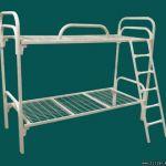 Металлические кровати двухъярусные для рабочих общежитий, строителей