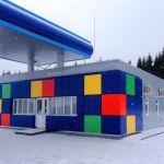 Ценовые стелы и конструкции для строительства азс