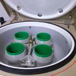 Центрифуга настольная ЦЛУ 6-3 с ротором 4х750