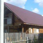 Дом с пропиской 130 м. в лесу, Роговское п. Калужское, Варшавское ш.