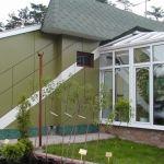 Фасадный пластик hpl, фасадные панели для отделки балконов