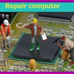 Сложный ремонт ноутбуков,  с возможной заменой видочипа и матрицы