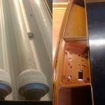 Jebo Аквариумный крышки светильники ремонт