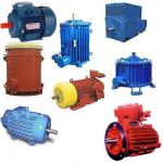Электродвигатели  ВАСО4-37, ВАСО-30,  ВАО2-450, ВАО4-450 ,АК4-400, А4-400