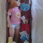 Кукла Красотка Супер с котиком и сумочкой для переноски 40 см