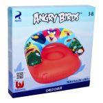 Надувное детское кресло angry birds
