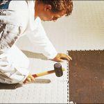 Полимерная плитка для пола, напольное покрытие в развлекательный центр или торговый комплекс