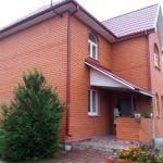 Коттедж  для  ПМЖ, 150 кв.м. г.Домодедово, ул.Центральная, м-н.Северный