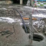 Санация  трубопровода труба в трубу