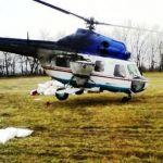 Вертоліт для внесення селітри на озимі культури